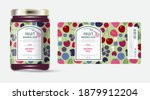 label and packaging of berries... | Shutterstock .eps vector #1879912204
