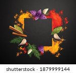 spices and herbs realistic... | Shutterstock .eps vector #1879999144