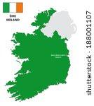Ireland With Flag