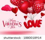 valentine's vector background... | Shutterstock .eps vector #1880018914