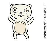 cartoon polar bear cub   Shutterstock .eps vector #188006417