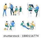 business hiring and recruitment ... | Shutterstock .eps vector #1880116774