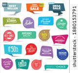 collection of super sale... | Shutterstock . vector #1880153791