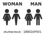 Toilet Icon. Toilet Sign. Male...