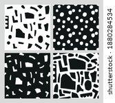 set of abstract vector pattern... | Shutterstock .eps vector #1880284534