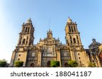 view of the facade of the...   Shutterstock . vector #188041187