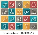 sports icons   Shutterstock .eps vector #188042519