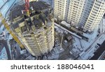 aerial view to construction new ... | Shutterstock . vector #188046041