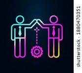 team  gear  workers nolan icon. ...