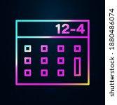 calculator outline nolan icon....