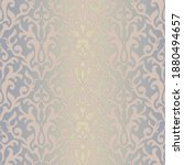 seamless damask pattern in...   Shutterstock .eps vector #1880494657