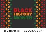 black history month. african...   Shutterstock .eps vector #1880577877