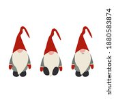 merry christmas   santa   happy ... | Shutterstock .eps vector #1880583874