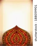 wedding greeting card... | Shutterstock .eps vector #188059901