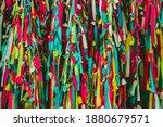 Colorful Scrappy Fabric....