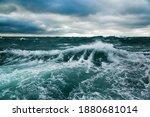 Ocean Storm. Storm Waves In The ...