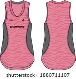 women sleeveless tank top... | Shutterstock .eps vector #1880711107