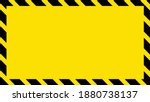 yellow background with black... | Shutterstock .eps vector #1880738137