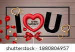 valentine's day vector...   Shutterstock .eps vector #1880806957