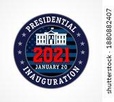 presidential inauguration usa ...   Shutterstock .eps vector #1880882407