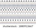 ethnic vector seamless pattern. ... | Shutterstock .eps vector #1880913667