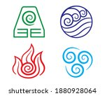 set of avatar symbol....   Shutterstock .eps vector #1880928064