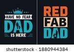 red fab dad t shirt design ... | Shutterstock .eps vector #1880944384