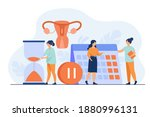 female patient consulting... | Shutterstock .eps vector #1880996131