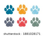 Watercolour Animal Footprints....
