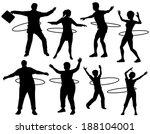 set of editable vector... | Shutterstock .eps vector #188104001