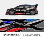 car graphic background vector.... | Shutterstock .eps vector #1881043591