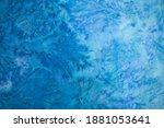 kraft blue paper texture... | Shutterstock . vector #1881053641
