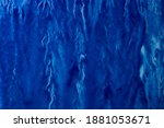 abstract hand painted blue... | Shutterstock . vector #1881053671