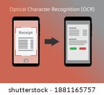 take pictures of your receipts...   Shutterstock .eps vector #1881165757