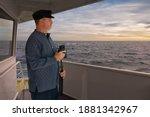 A Captain Of A Cargo Ship...