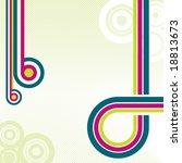 retro disco background. vector | Shutterstock .eps vector #18813673