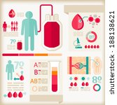 info graphics of healthcare... | Shutterstock .eps vector #188138621