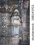 apsara dancers  bas relief of...   Shutterstock . vector #188141921