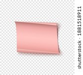 abstract pink realistic paper...   Shutterstock .eps vector #1881518911