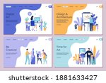 art work landing page.... | Shutterstock . vector #1881633427