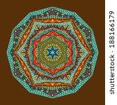 Bright Ethnic Geometric Patter...