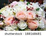 closeup of beautiful roses. | Shutterstock . vector #188168681
