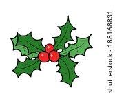 cartoon holly | Shutterstock . vector #188168831