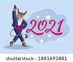 Bull Dancer  Symbol Of 2021 ...