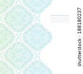 vector ornate light background... | Shutterstock .eps vector #188180237