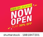 sale and special offer tag ... | Shutterstock .eps vector #1881847201