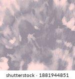 Watercolor Print. Pink Tie Dye...
