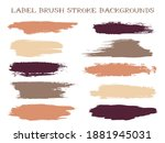 abstract label brush stroke... | Shutterstock .eps vector #1881945031