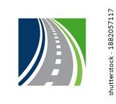 vector direction logo... | Shutterstock .eps vector #1882057117