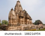 khajuraho  india   december 24  ... | Shutterstock . vector #188216954